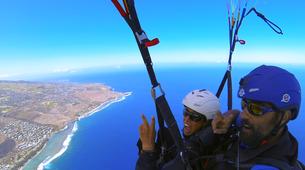 Paragliding-Saint-Leu-Paragliding flight on Reunion Island-1