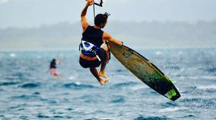 Kitesurf-Les Trois-Îlets-Cours de Kitesurf à la Pointe du Bout, Martinique-4