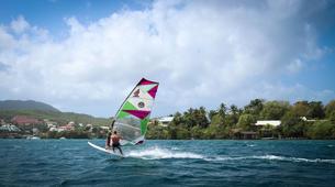 Windsurf-Les Trois-Îlets-Cours de Windsurf à la Pointe du Bout, Martinique-4