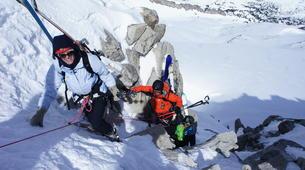 Ski touring-Font Romeu-Guillaume Bernole, Ski Touring Guidein Font Romeu, Pyrenees-1