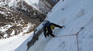 Alpinisme-Ariege-Alpinisme Hivernal dans les Pyrénées-4