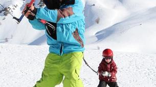 Snowkite-La Grave-Snowkite au col du Lautaret-5