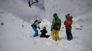 Snowkite-La Grave-Snowkite au col du Lautaret-4