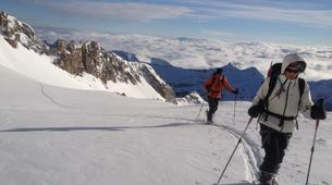 Ski de randonnée-Ariege-Sorties Ski de Randonnée dans les Pyrénées Orientales-2