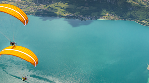 Paragliding-Annecy-Tandem paragliding flight over Annecy's Lake-3
