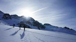 Ski touring-Font Romeu-Guillaume Bernole, Ski Touring Guidein Font Romeu, Pyrenees-2