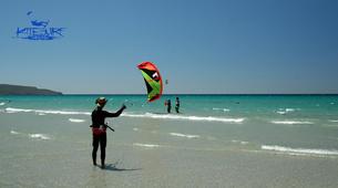 Kitesurfing-Porto Pino-Private Kitesurfing Course in Sardinia-1