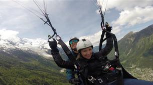 Parapente-Chamonix Mont-Blanc-Vol Parapente Biplace en face du Mont-Blanc, Chamonix-5