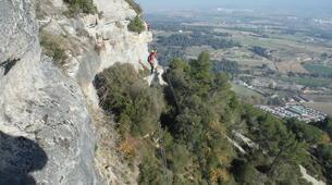 Via Ferrata-Centelles-Via ferrata Les Baume Corcades-1