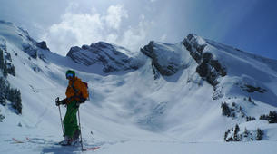 Ski Hors-piste-La Clusaz, Massif des Aravis-Initiation Ski Hors-piste à La Clusaz-3