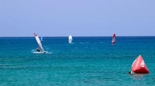 Windsurf-Palekastro-Cours de windsurf en Crète-1