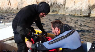 Scuba Diving-Kefalonia-PADI TecRec diving course in Kefalonia-3