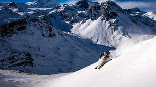 Ski Hors-piste-Tignes, Espace Killy-Expédition Freeride à Tignes-2