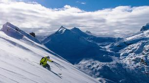 Backcountry Skiing-Tignes, Espace Killy-Freeriding expedition in Tignes-1