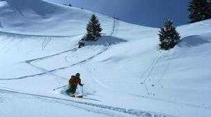 Ski Hors-piste-La Clusaz, Massif des Aravis-Initiation Ski Hors-piste à La Clusaz-4