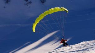 Speedriding-Megève, Evasion Mont Blanc-Stages et Vols découverte Speedriding à Praz sur Arly-1