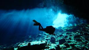 Scuba Diving-Kefalonia-PADI Advanced Open Water cavern diving course in Kefalonia-5