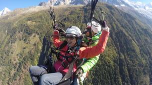 Parapente-Chamonix Mont-Blanc-Vol Parapente Biplace en face du Mont-Blanc, Chamonix-2