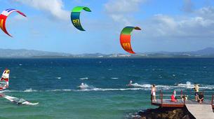 Kitesurfing-Les Trois-Îlets-Kitesurfing lessons in Martinique-1
