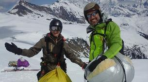 Speedriding-Megève, Evasion Mont Blanc-Stages et Vols découverte Speedriding à Praz sur Arly-2
