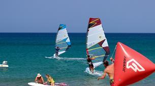 Windsurf-Palekastro-Cours de windsurf en Crète-3