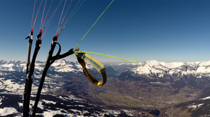 Speedriding-Chamonix Mont-Blanc-Speeriding initiation in Chamonix-2