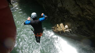 Canyoning-Annecy-Canyons Initiation d'Angon ou Montmin autour du Lac d'Annecy-3