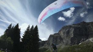 Parapente-Chamonix Mont-Blanc-Vol Parapente Biplace en face du Mont-Blanc, Chamonix-6