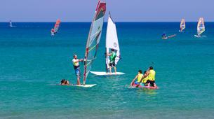 Windsurf-Palekastro-Cours de windsurf en Crète-6