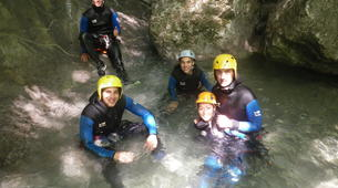 Canyoning-Annecy-Canyons Initiation d'Angon ou Montmin autour du Lac d'Annecy-1