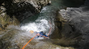 Canyoning-Annecy-Canyons Initiation d'Angon ou Montmin autour du Lac d'Annecy-4