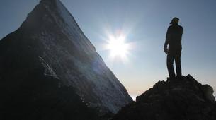 Alpinisme-Ariege-Alpinisme sur l'Arête Ouest du Petit Rulhe et à la Dent d'Orlu-4