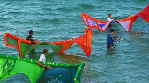 Kitesurf-Les Trois-Îlets-Cours de Kitesurf à la Pointe du Bout, Martinique-2