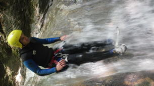Canyoning-Annecy-Canyons Initiation d'Angon ou Montmin autour du Lac d'Annecy-6