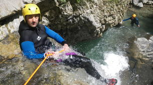 Canyoning-Annecy-Canyons Initiation d'Angon ou Montmin autour du Lac d'Annecy-5