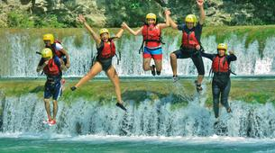 Canyoning-Huasteca Potosina-Abseils and waterfall jumps in Minas Viejas Rive, Huasteca Potosina-2