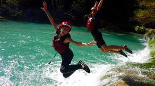 Canyoning-Huasteca Potosina-Abseils and waterfall jumps in Minas Viejas Rive, Huasteca Potosina-1