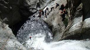Canyoning-Céret-Canyon Découverte du Gourg des Anelles à Céret-5