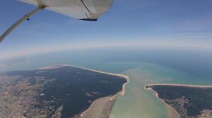 Parachutisme-Ile d'Oléron-Saut en Parachute Tandem à 3500m à Marennes, Île d'Oléron-1