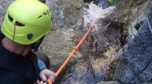 Canyoning-Prades-Hot spring canyon of Thuès-Entre-Valls-5