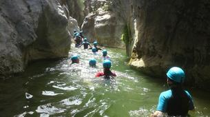 Canyoning-Costa del Sol-Discovery canyon of the Gorges of Guadalmina River-3