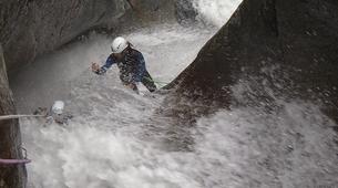Canyoning-Céret-Canyon Découverte du Gourg des Anelles à Céret-6