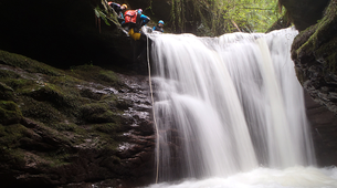 Canyoning-Cantabrie-Canyoning at Chorretones Gorge in Cantabria-3