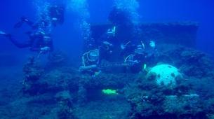 Scuba Diving-Corfu-Shipwreck adventure dive in Corfu-3