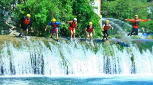 Canyoning-Huasteca Potosina-Abseils and waterfall jumps in Minas Viejas Rive, Huasteca Potosina-3