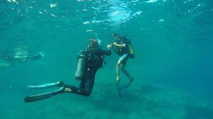 Scuba Diving-L'Île-Rousse-First scuba dive in l'Ile Rousse, Corsica-4
