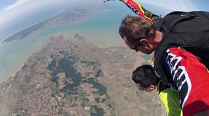 Parachutisme-Ile d'Oléron-Saut en Parachute Tandem à 3500m à Marennes, Île d'Oléron-2