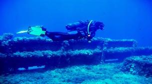 Scuba Diving-Corfu-Shipwreck adventure dive in Corfu-4