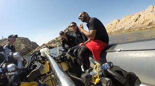 Scuba Diving-L'Île-Rousse-First scuba dive in l'Ile Rousse, Corsica-2