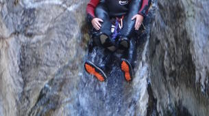 Canyoning-Prades-Hot spring canyon of Thuès-Entre-Valls-3